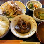 阿部商店 - 日替り定食(肉)