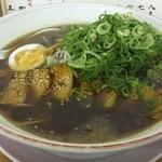 大ちゃんラーメン - 料理写真:ターロー醤油大盛りネギ多め、麺硬め(950円)