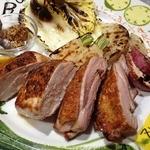 イタリア料理Colza - 料理写真:<大和肉鶏炭火焼き>
