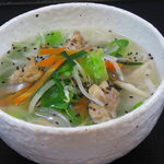 清水十割 そばいち - 料理写真:新登場!米粉で作った米タン麺です。