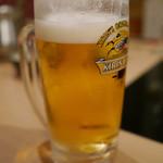 もつ鍋一藤 - 生ビール