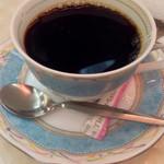 純喫茶 アメリカン - ドリンクは、コーヒー・紅茶・ミルクから選べます。