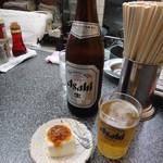 らーめん亭 26 - ビールとお通し