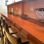 ビストロ ナチュレ - カウンター席でしたが テーブル席に変わっていました 2015/02