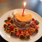 リッカ ナス ヒュッテ - お好きなパンケーキをbirth day pancakeに