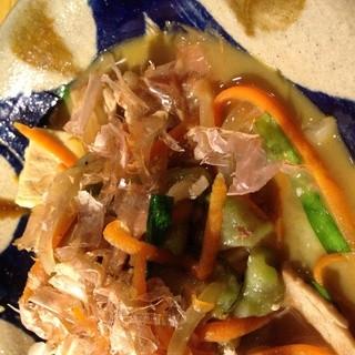 チャンプルーで野菜ガッツリ!