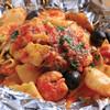 ヴィアデッラキエーザ - 料理写真:香りで演出。テーブルに広がる魚介の香り