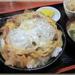 たつみ食堂 - 料理写真:カツ丼 (大盛)