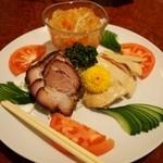 551蓬莱 - 三種冷菜盛り合わせ