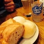 ロス・シティオス - お通しのパン
