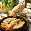 韓のかおり家 - 料理写真:サムギョプサルはスタッフが切ってくれるので安心。