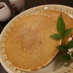 水間珈琲 - 料理写真:メープルパンケーキのドリンクセット_890円_2014.01