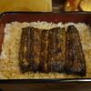 うなぎの甚八 - 料理写真:三人で異口同音に言った言葉「小さくなった?」