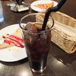 TAGEN DINING CAFE - アイスコーヒー(ケーキセット)