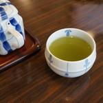 うなぎの甚八 - さすが、静岡のお茶