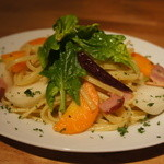 SoleiL - 東京野菜のペペロンチーノ