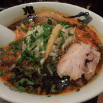 カラシビ味噌らー麺 鬼金棒 - 味玉カラシビ味噌らー麺(フツーです)