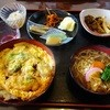 Konnikuchaya - 料理写真:カツ丼とざるそば