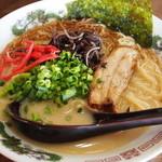 かみあり製麺 - 鶏とんこつラーメン