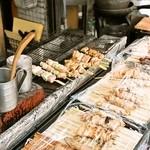 柴又 かなん亭 - 2014.1 店頭では焼鳥も販売しています