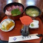 花ぐるま - 鉄火丼(1029円)