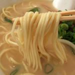 23925231 - 中華そば(小)の麺