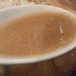 麺屋 天孫降臨 三宮本店 - スープ
