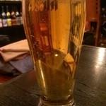 えちご - 生ビール(580円)