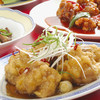 広東飯店 美香園 - 料理写真:若鶏のから揚げ