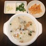 屏南 - ピータン粥(テイクアウト)