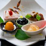 江戸紫 - 季節の前菜