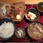 ばんざい - 自慢の生姜焼き定食900円