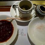 順光苑 - タレ・塩・柚子胡椒で頂きます♪