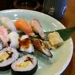 ゑまひ寿し - ランチ限定お寿司定食950円
