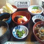 お食事処 おおもり - お昼をいただきました。