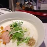 ささりんどう - 鶏ポタラーメン 並  750円