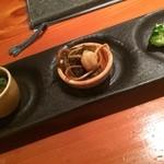 和風創作料理ぼんまり - 前菜3品