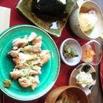 23938713 - 鶏肉の麹焼き定食