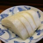 ゑまひ寿し - 大根の酢漬け(ランチ〆)