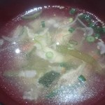 コリヤンテーブル - スープ