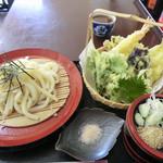 たんぽぽ - 天ざるうどん(700円)_2014-01-29