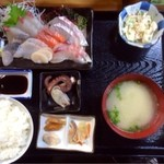 23944087 - お刺身定食¥1050