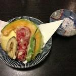 続おそばに - 季節の野菜天ぷら