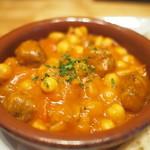 23944282 - お豆とミートボールの煮物