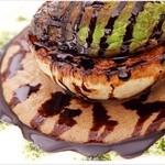 ブルズアイ・オン・プリュス - お野菜のステーキ(お野菜の内容は季節によって変わります)1000円