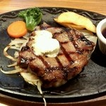 けん - 厚切りサーロインステーキ(US産)(150g)
