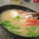 秀吉 - カニの味噌汁