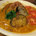 ゴピナータ - 揚げ野菜カレー2