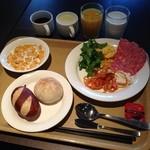ホテルルートイン - 料理写真:ルートイン彦根で朝食。