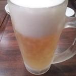 ちょもらんま - 冷たいビール♪